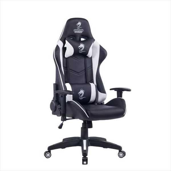 כיסא גיימנג Dragon Olympus צבע לבן