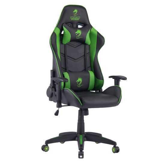 כיסא גיימנג Dragon Olympus צבע ירוק