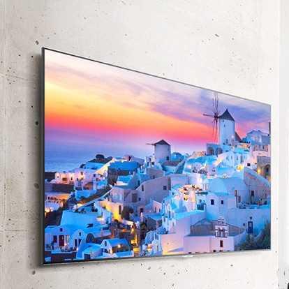 התקנה שולחנית/קירית + מתקן צמוד קיר לטלוויזיות LG