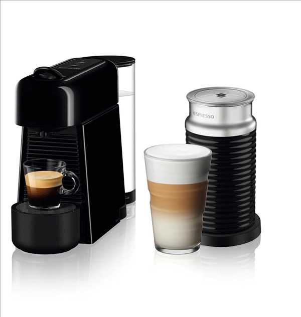 מכונת אספרסו Nespresso Essenza D45 Plus נספרסו כולל מקצף חלב