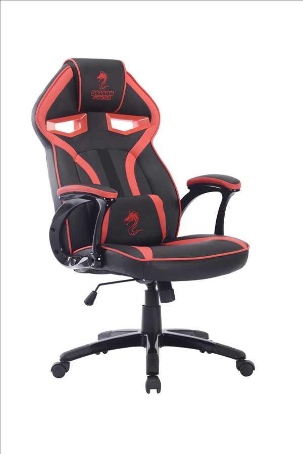 כיסא גיימנג Dragon ULTRA GAMING CHAIR שחור אדום
