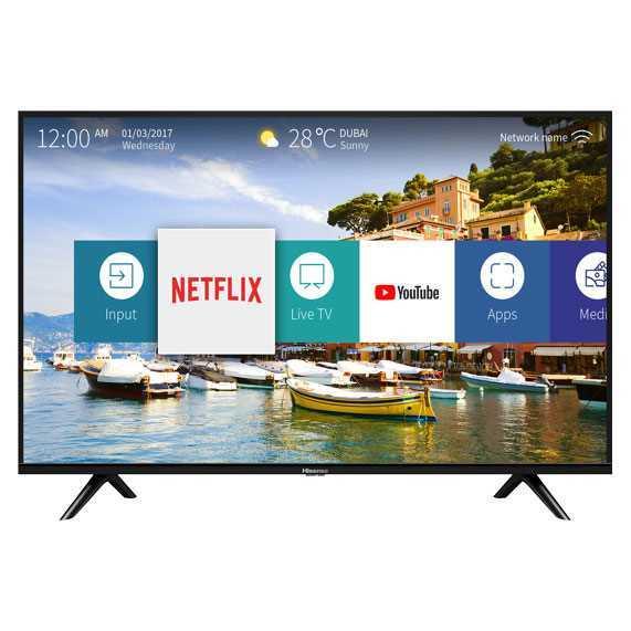 טלוויזיה Hisense 43B6000IL Full HD 43 אינטש הייסנס
