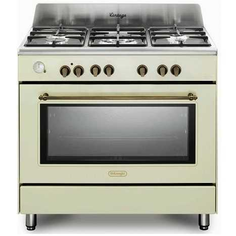 תנור משולב כיריים 5 להבות Delonghi NDS952VN דה לונגי