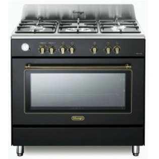 תנור משולב כיריים 5 להבות Delonghi NDS952AN דה לונגי