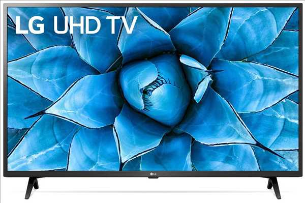 "טלוויזיה ""43 Smart-TV 4K UltraHD דגם: 43UN7340 אל-ג'י LG"
