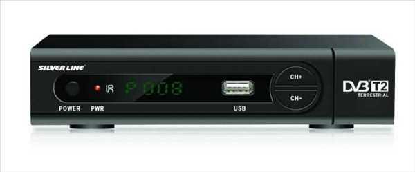 ממיר לשידור עידן+ DVBT2 HD מבית Silver Line