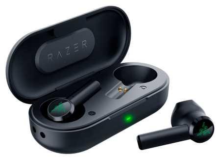 אוזניות אלחוטיות Razer Hammerhead True Wireless - צבע שחור