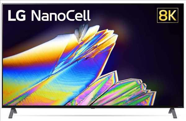 """טלוויזיית 65"""" LED חכמה 65NANO95 8K Ultra HD NanoCell תוצרת LG אל-ג'י"""