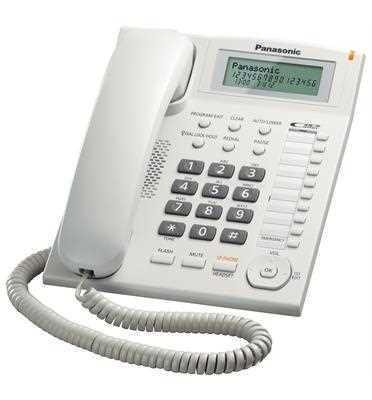 טלפון שולחני Panasonic KX-TS880MXW פנסוניק