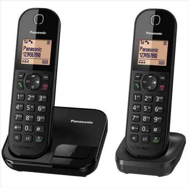 טלפון אלחוטי + שלוחה אחת Panasonic KX-TGC412MBB פנסוניק