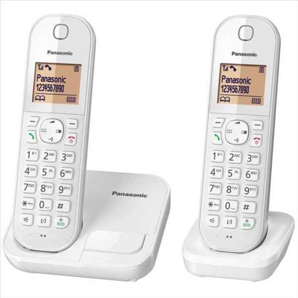 טלפון אלחוטי + שלוחה אחת Panasonic KX-TGC412MBW פנסוניק