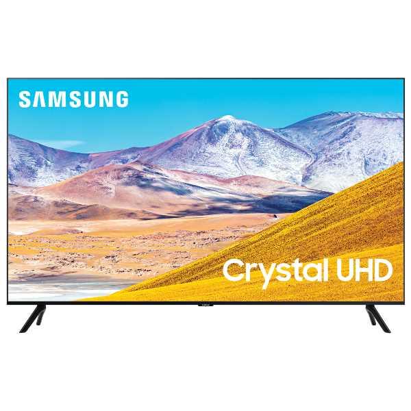 """טלוויזיה 43"""" דגם SAMSUNG 4K SMART Crystal UHD UE43TU8000 סמסונג"""