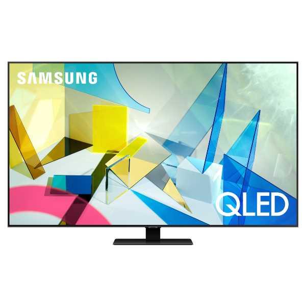 """טלוויזיה חכמה """"55 ללא מסגרת SAMSUNG QLED-4K SMART QE55Q80T סמסונג"""