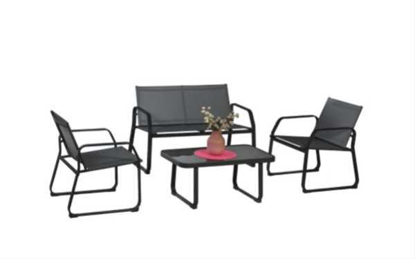 מערכת ישיבה גארדה 2+1+1+שולחן דגם Garda תוצרת Australia Garden