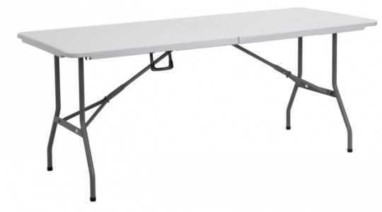 """שולחן אירוח מתקפל 180 ס""""מ מבית Australia Camp"""
