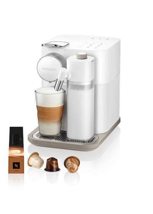 מכונת קפה NESPRESSO גראן לטיסימה בגוון לבן דגם F531