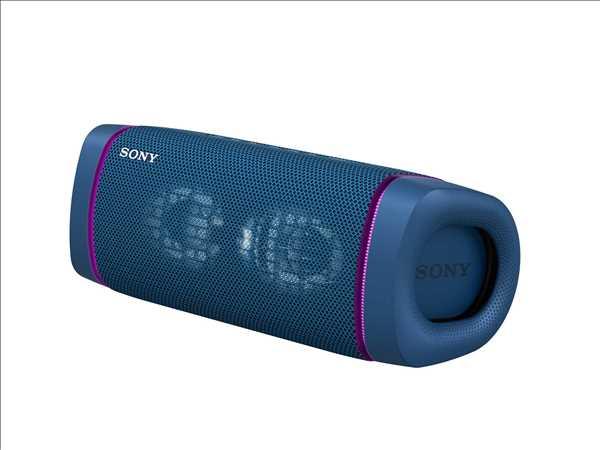 רמקול נייד סוני כחול SONY SRS-XB33L סוני