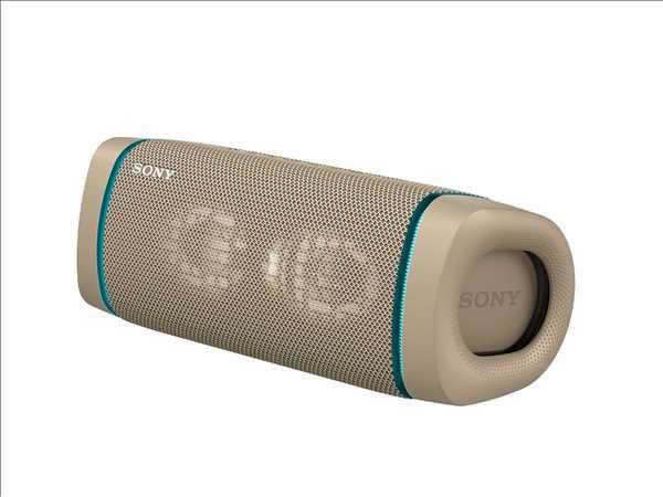 רמקול נייד סוני צבע בז' SONY SRS-XB33C סוני