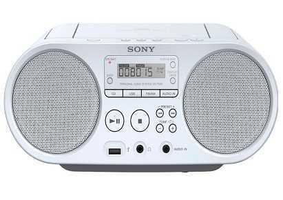 מערכת שמע ניידת Sony ZSPS50W סוני