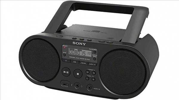 מערכת שמע ניידת Sony ZSPS50B סוני