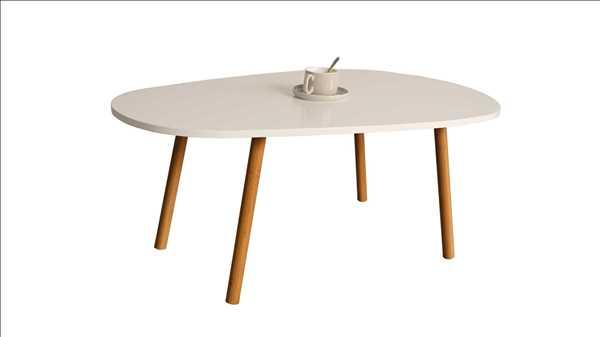 שולחן אלגנטי לסלון דגם BERGAMO