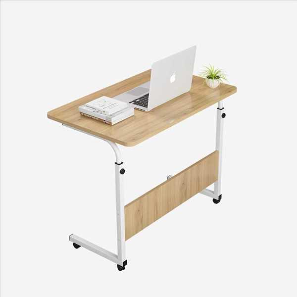 שולחן לפטופ דגם MARK 60/40 צבע עץ טבעי