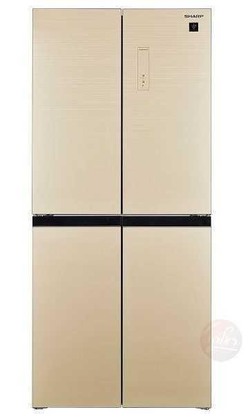 מקרר 4 דלתות 401 ליטר Sharp SJ-8435CH שארפ