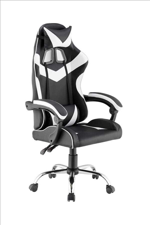 כסא גיימרים אורתופדי דגם PRO3-BW מבית NINJA EXTRIM
