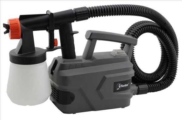 מרסס צבע חשמלי עם קומפרסור Hunter 500W 100900-003 האנטר